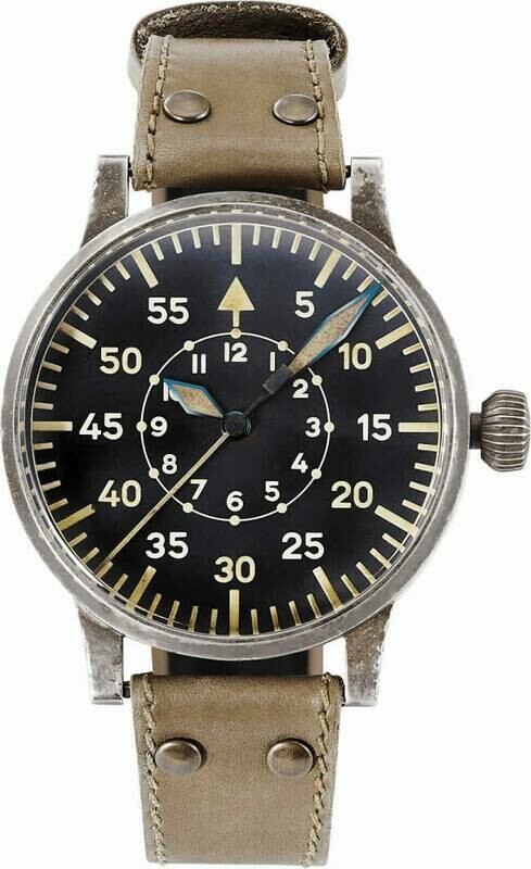 Laco Pilot Watch Original Replika 55 Erbstück