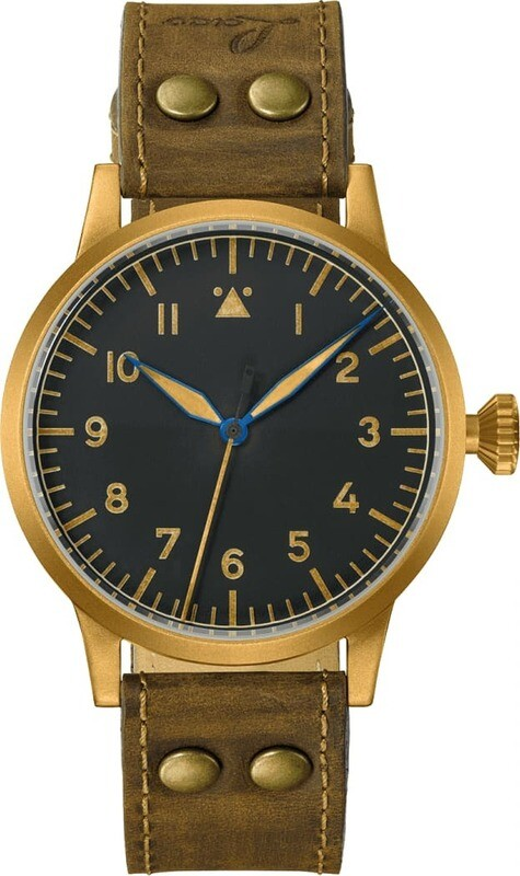 Laco Pilot Watch Westerland Bronze 45mm
