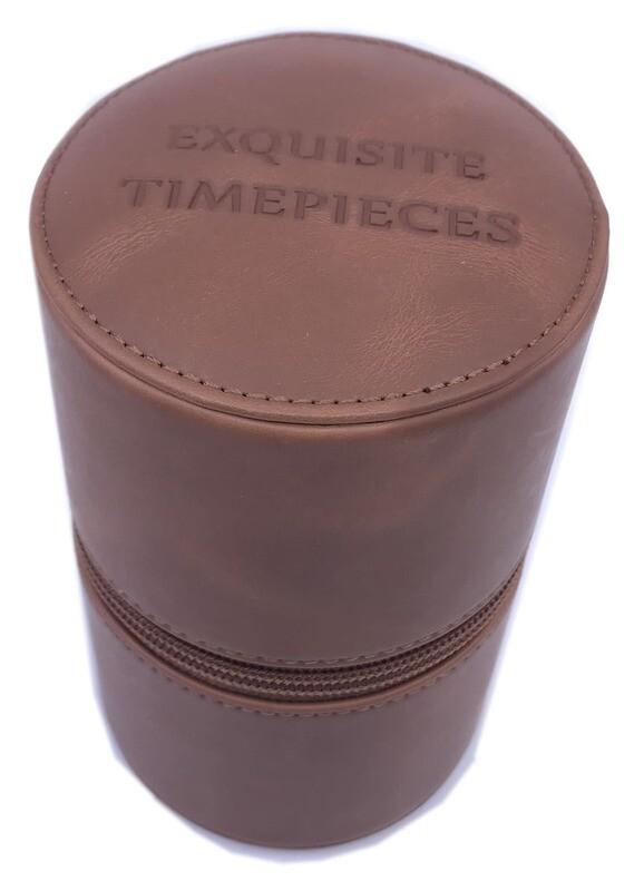Exquisite Timepieces Watch Case Brown