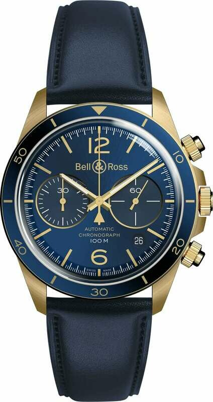 Bell & Ross BR V2-94 Aéronavale Bronze
