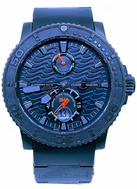 Ulysse Nardin Maxi Marine Diver Black Ocean Limited Edition 263-38LE