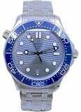 Omega Seamaster Diver 300M Co-Axial Master Chronometer on Bracelet 210.30.42.20.06.001