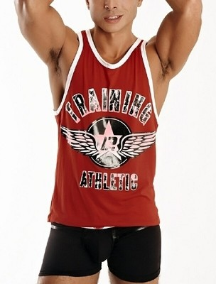 PIPE College Jock Athletic Tank Top Shirt