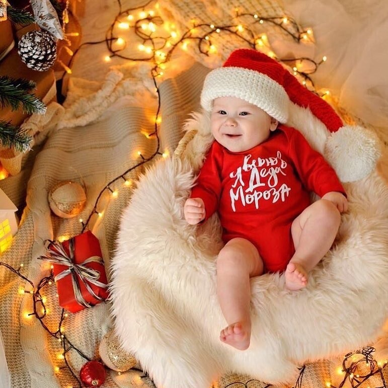 "Боди ""Я верю в Деда Мороза"""