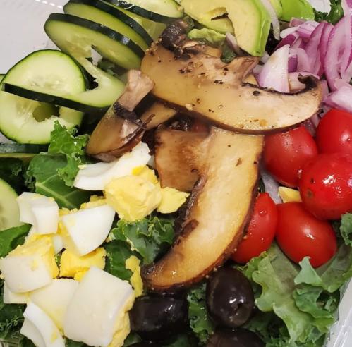 BOWL - Kale Cucumber Avocado Salad