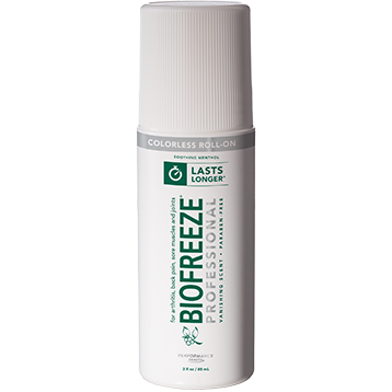 BIOFREEZE PRO ROLL ON COLORLESS 3FL OZ (EE B18108)