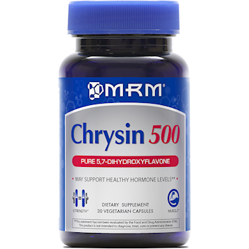 Chrysin 500mg 30 VegCaps (CHRYS)