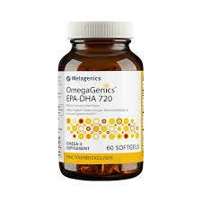 OmegaGenics™ EPA-DHA 720 lemon 60gels (EPA32)
