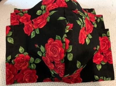 Designer Mask Roses Adult