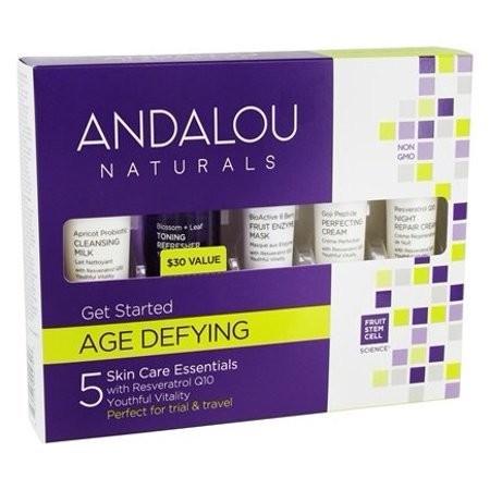 5 pc get start age defy kit (509270) andalou natu