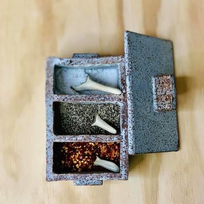 Salt, Pepper  & Chilli Boxes