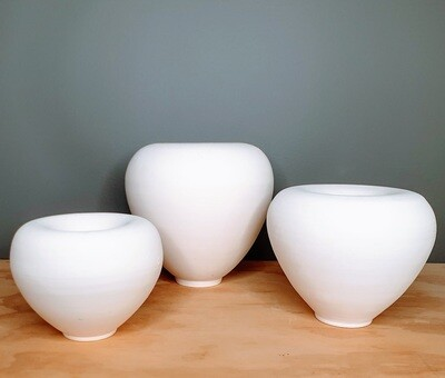 Oblong Hancrafted Vessels