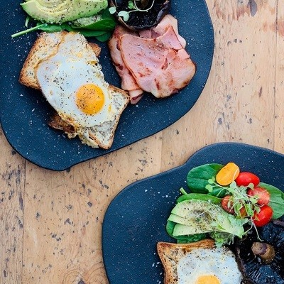 Black Rabbit Organic Dinner Plates  see range