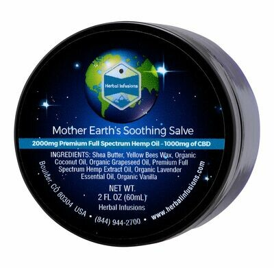 Mother Earth's Soothing Hemp Salve