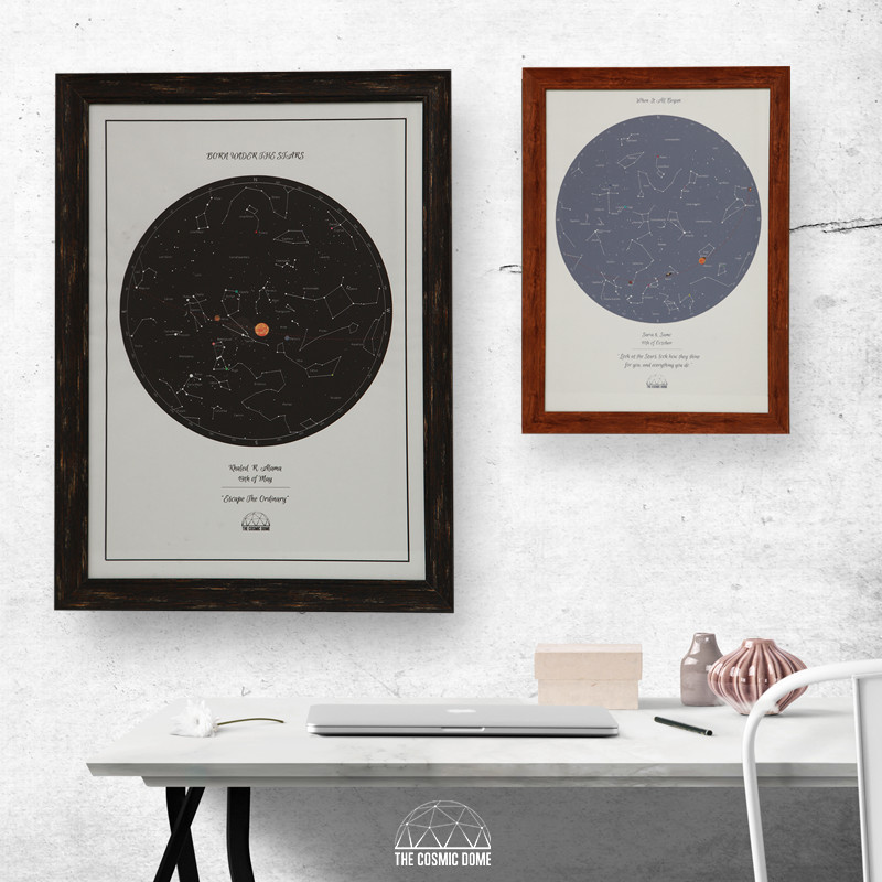 Star Map - Framed