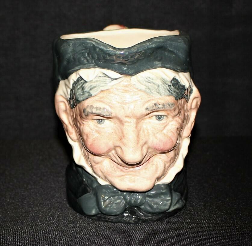 """Royal Doulton Large 6"""" Granny Character Toby Mug, England D5521"""