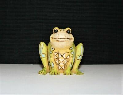 Jim Shore Miniature Frog Heartland Creek Enesco Figurine #4026877