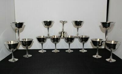 Set of 13 Salem Portugal Silverplate 4.75