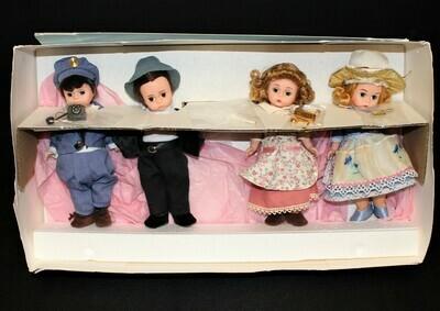Madame Alexander THE HONEYMOONERS Limited FAO Schwarz 4 Doll Set in Box #79230