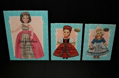 Set of 3 Madame Alexander Limited Edition Paper Doll Collection, Unused