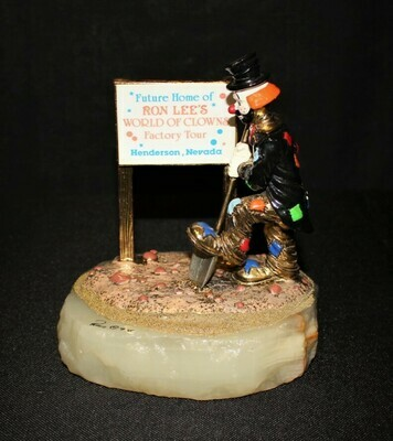 Ron Lee Hobo Joe World of Clowns Factory Tour Henderson, NV Sculpture Figurine