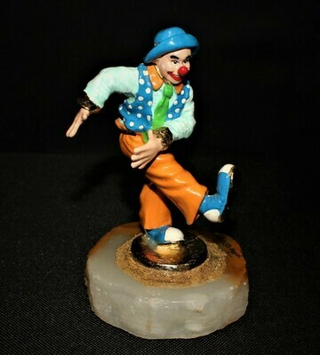 Ron Lee 2000 KIX Clown Sculpture Figurine #CCG14, Signed