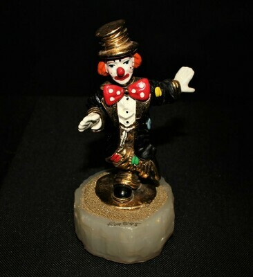Ron Lee 1995 Chip Off the Old Block Clown Sculpture Figurine #CCG8, Signed