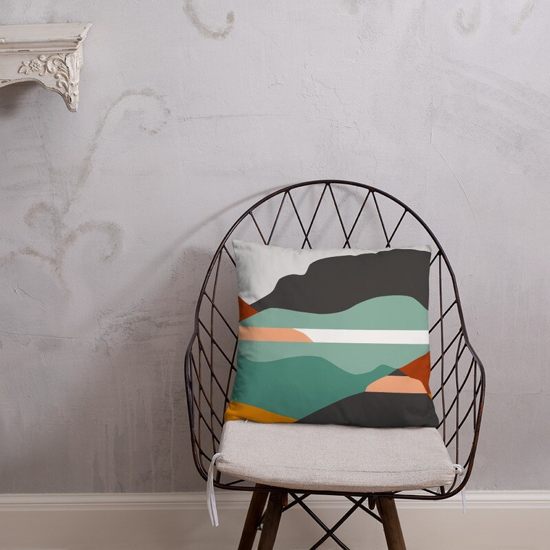 Art We There Yet Pillow