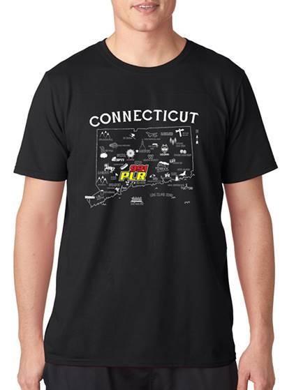WPLR Connecticut T-shirt