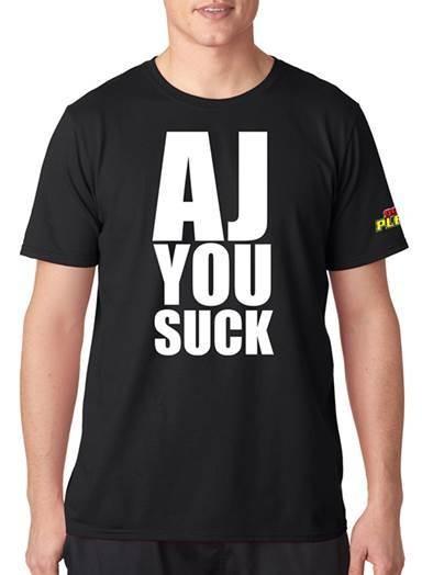 WPLR AJ, YOU SUCK Shirt