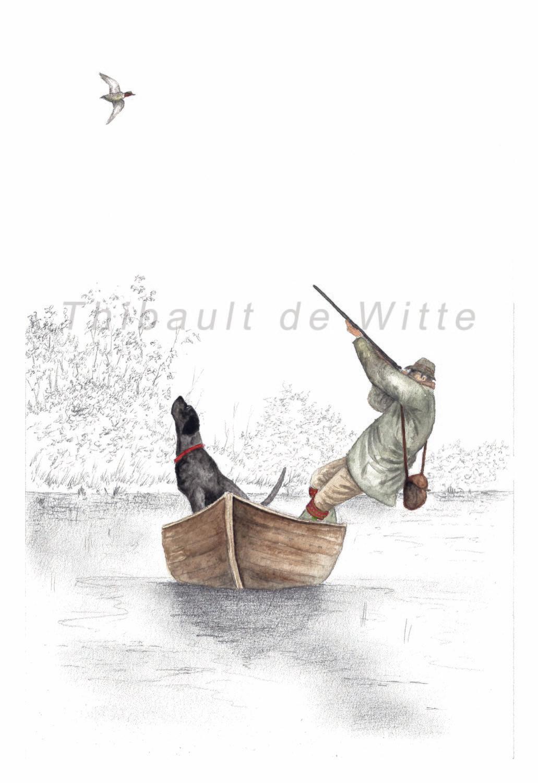 Chasseur et Sarcelle