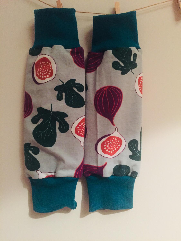 Purple Figs Leg Warmers - alternative cuffs available