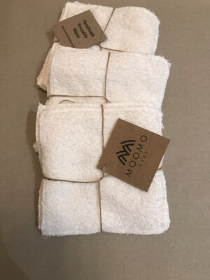 Little dirty bottom reusable wipe pack