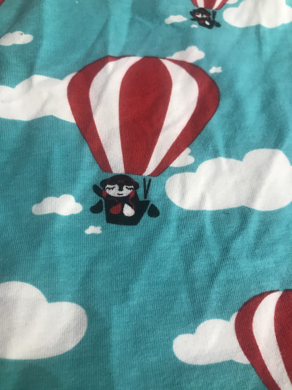 Turquoise Hot Air Balloon Leg Warmers - alternative cuffs available