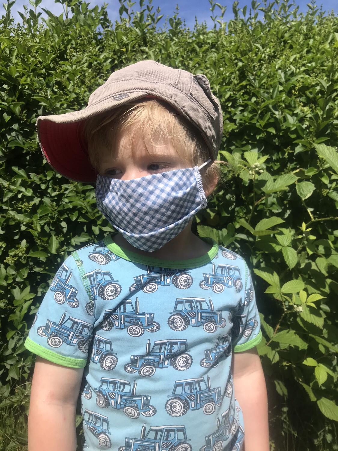Face Covering Children's Sizes
