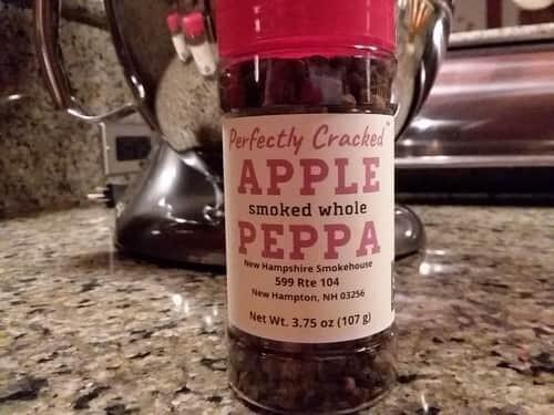 Apple wood Smoked Whole Peppa 6 oz kitchen size