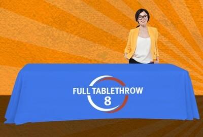 8-ft Full Table Throw