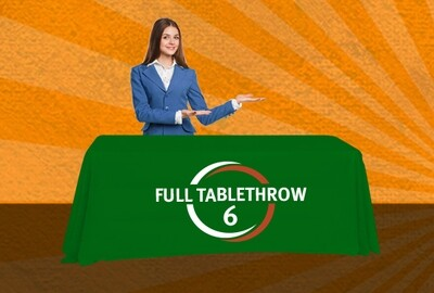 6-ft Full Table Throw