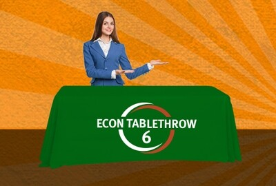 6-ft Econ Table Throw