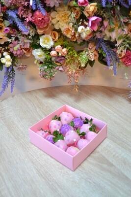 ვარდისფერი & იასამნისფერი (12ც)   Pink & Purple (12pcs)