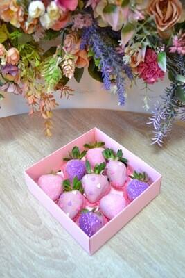 ვარდისფერი & იასამნისფერი (9ც)   Pink & Purple (9pcs)