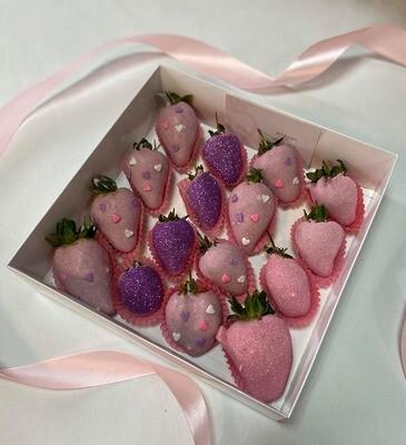 ვარდისფერი & იასამნისფერი (16ც)   Pink & Purple (16pcs)