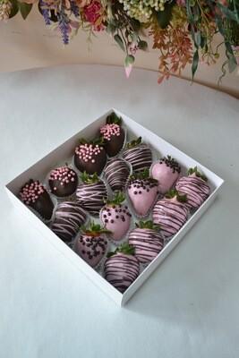 ყავისფერი & ვარდისფერი (16ც)   Brown & Pink (16pcs)