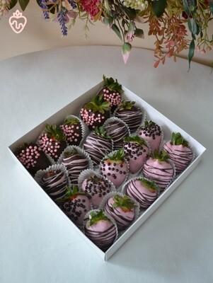 ყავისფერი & ვარდისფერი (20ც)   Brown & Pink (20pcs)