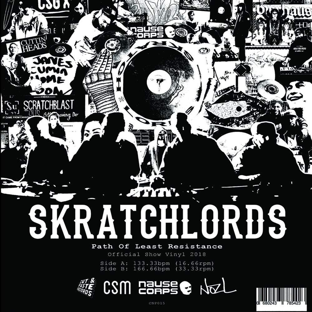 The Skratchlords – Path of Least Resistance