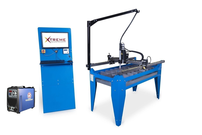 4x2 CNC Complete Plasma Cutting Table Kit & 50 Amp Cutter(240v)(Cut upto 12mm steel)