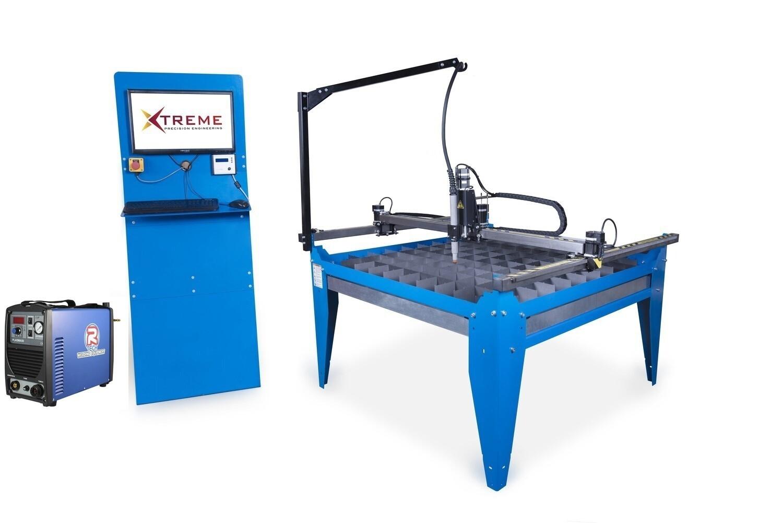 4x4 CNC Complete Plasma Cutting Table Kit & 50 Amp Cutter(240v)(Cut upto 12mm steel)