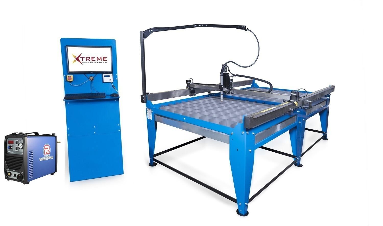 8x4 CNC Complete Plasma Cutting Table Kit & 50 Amp Cutter(240v)(Cut upto 12mm steel)