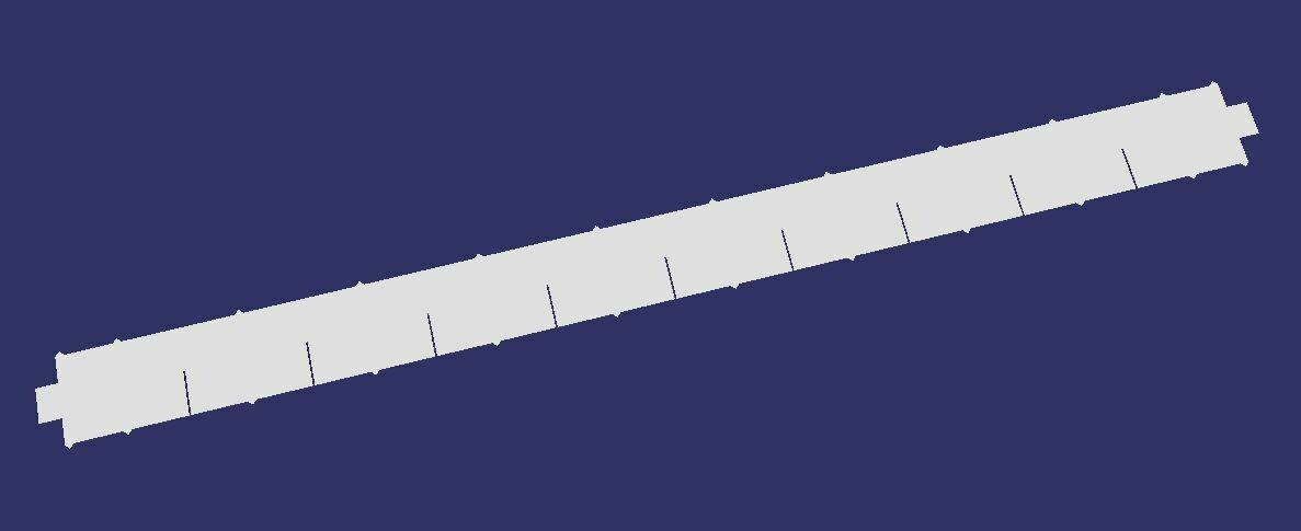 4x4 slat kit (18 pieces)
