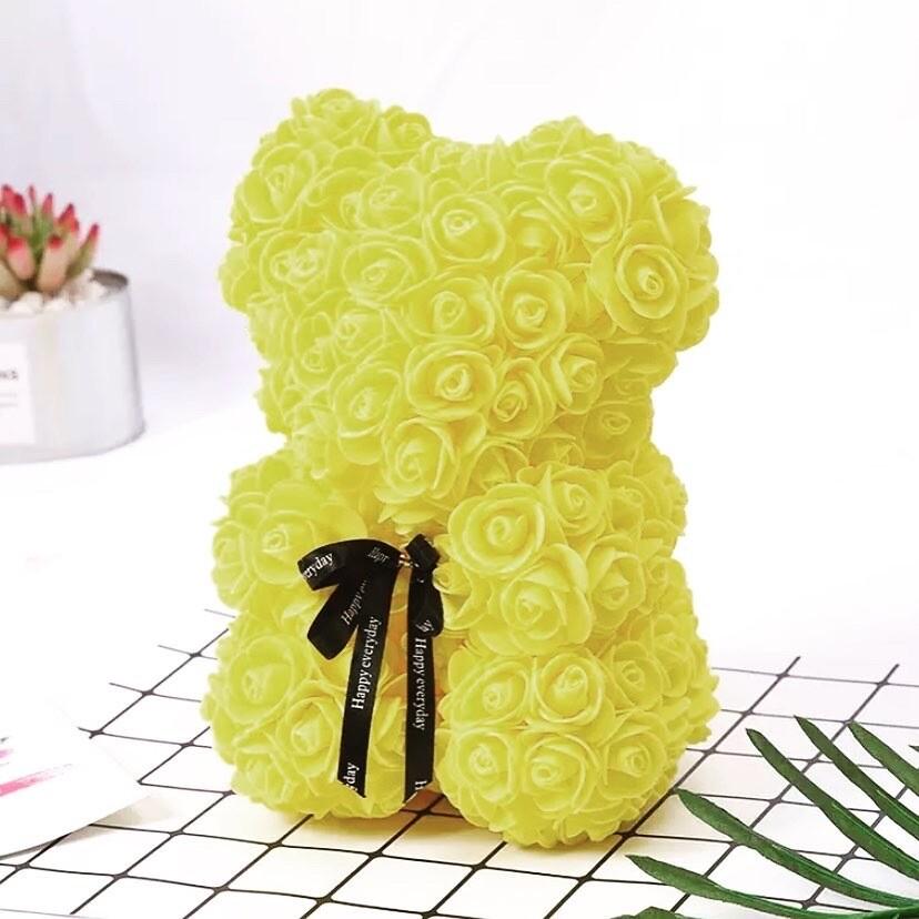 Rosette Bear Yellow Color